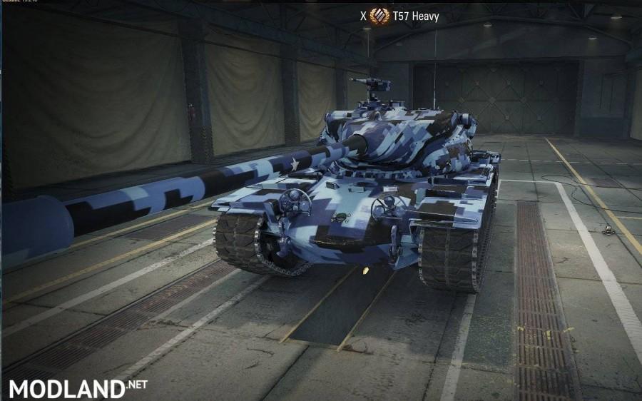 T57 Heavy Blue Digital Skin 1.0.2.2 [1.0.2.2]